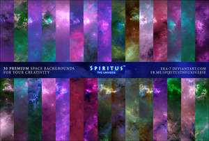 30 SPACE BACKGROUNDS - PACK 2