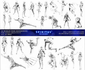 30 HUMAN POSE REFERENCES - PACK 17