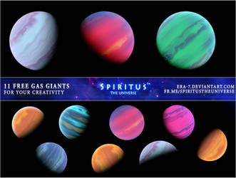 11 FREE GAS GIANTS - PACK 24