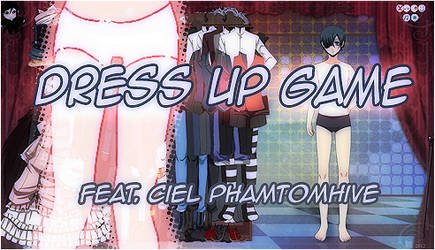 Ciel Dress Up Game by kuro-mai
