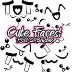 Cute Face PSCS2 Brush