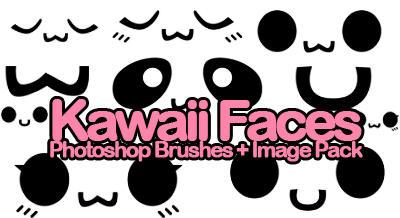 KAWAii FACE BRUSHES by xlilbabydragonx