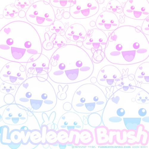 Loveleene Brushes by xlilbabydragonx