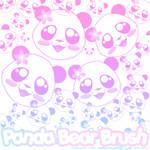 Panda Head Brush