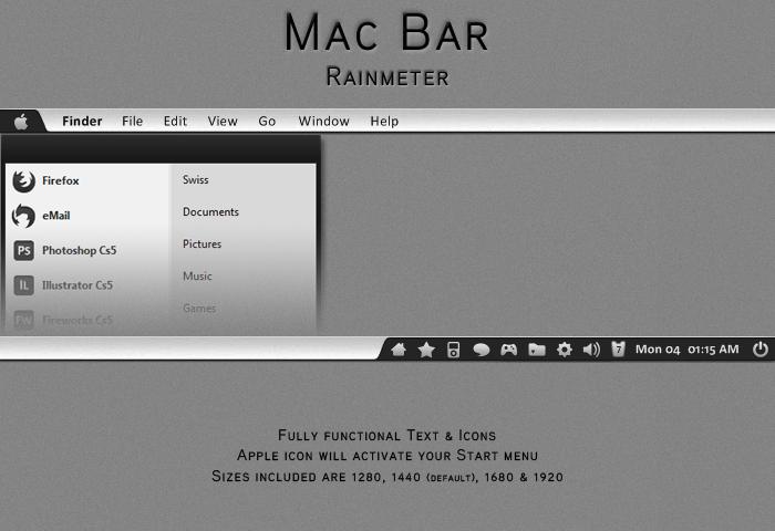 Mac Bar by OminousShadows