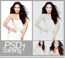 .PSD Coloring 1 by greatedition