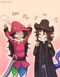 Pirate Crew by ikimaru-art