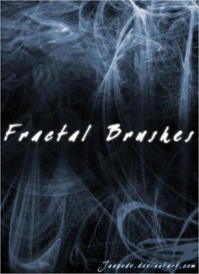 Fractal Brushes 1 by JaapvdV