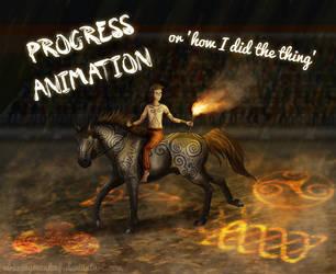 How I Art - Progress GIF by ElreniaGreenleaf