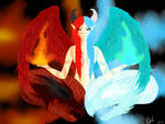 Fire and Ice by IcedArcane