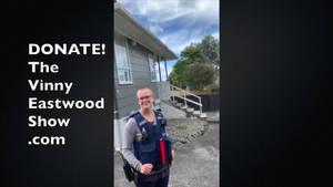 NZ Journalist Vinny Eastwoods 5th Police Visit Chr