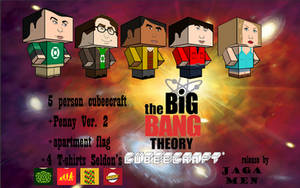 The Big Bang Theory cubeecraft PAC by JagaMen