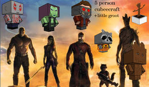 Guardians of the galaxy cubeecraft PAC