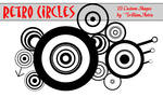 Retro Circles - Custom Shapes