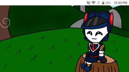 A Happy Blueberry boi {Animation} by PinkyHaert