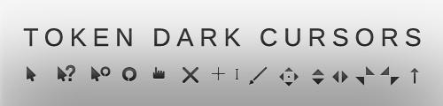 token dark cursors by outofashion