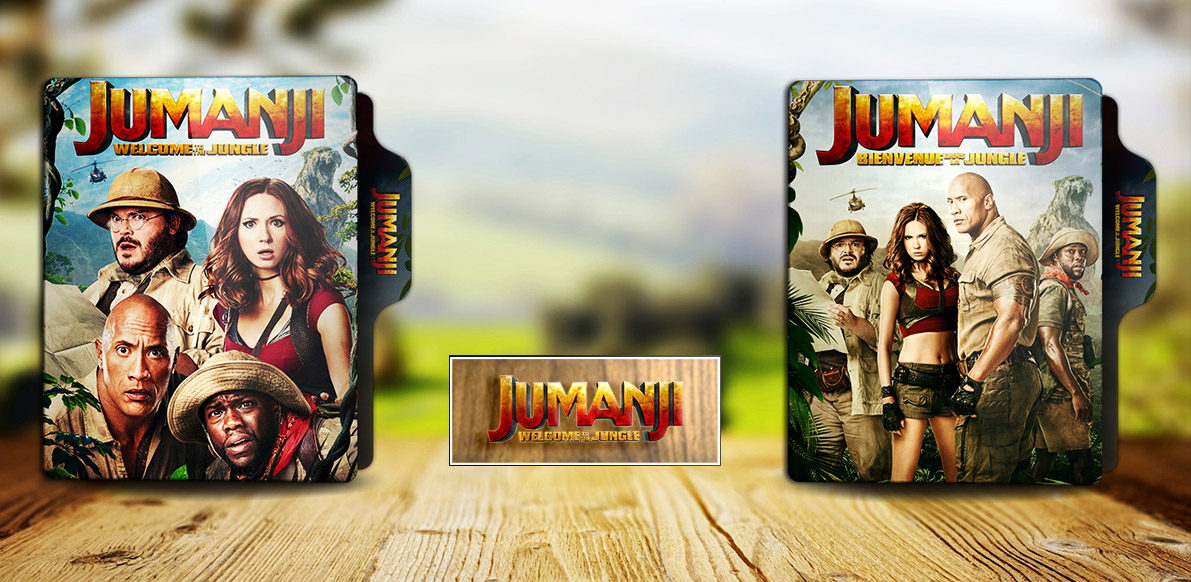 Jumanji Welcome To The Jungle 2017 Folder Icon By Rkomilan On Deviantart