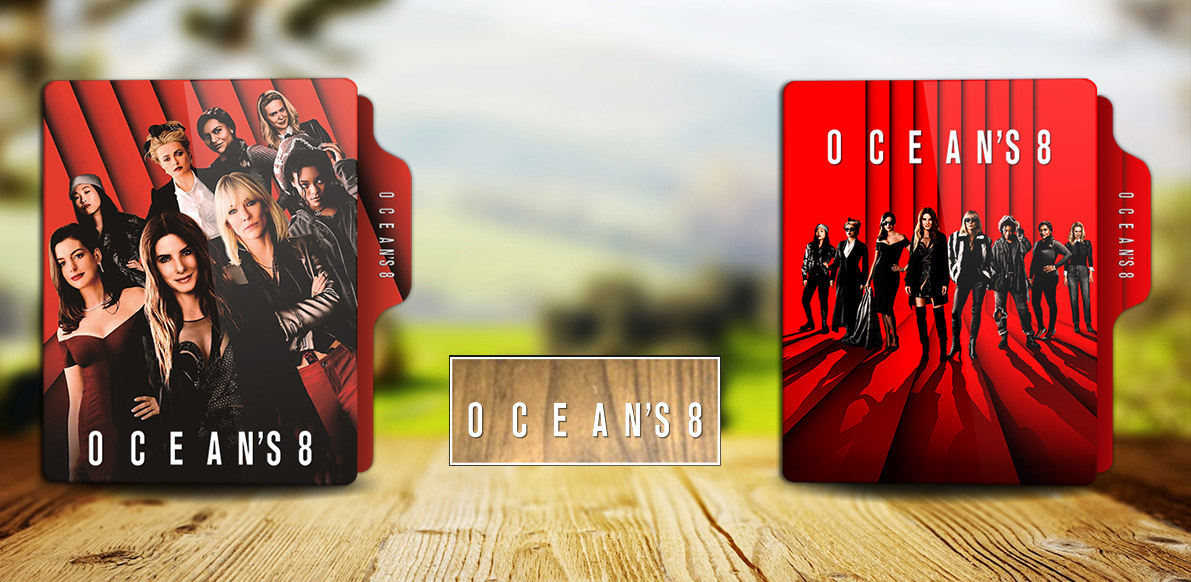 Oceans Eight 2018 Folder Icon By Rkomilan On Deviantart
