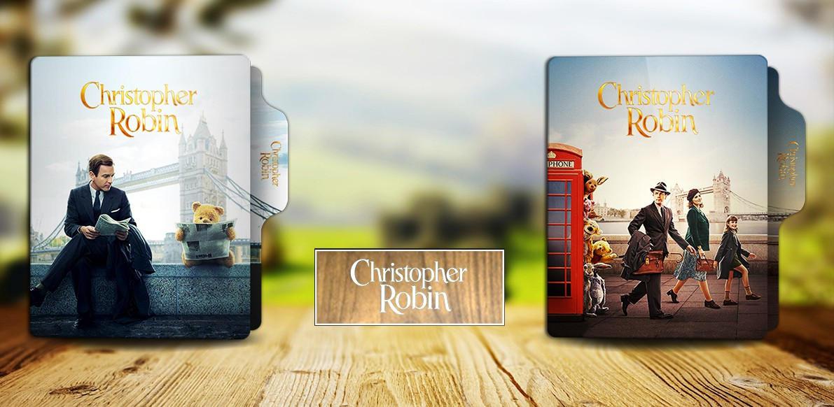 Christopher Robin 2018 Folder Icons By Rkomilan On Deviantart
