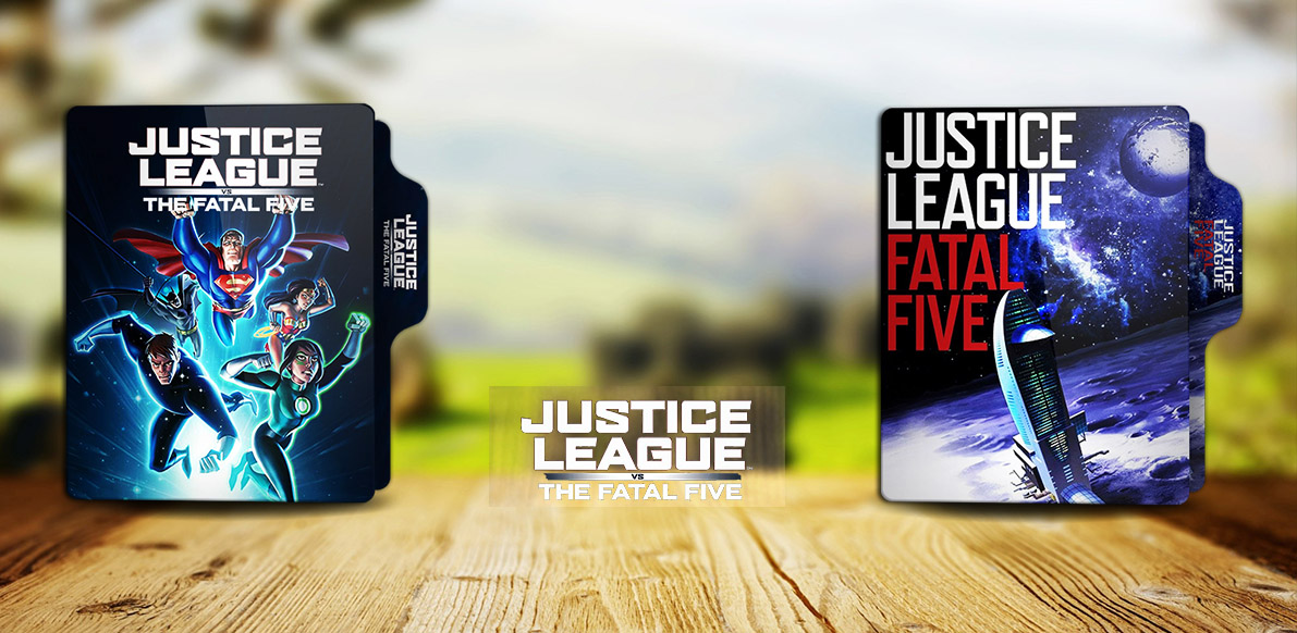 Justice League Vs The Fatal Five 2019 Folder Ico By Rkomilan On Deviantart