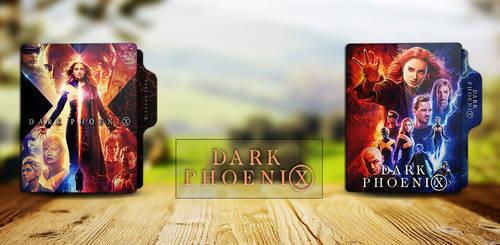 Dark Phoenix (2019) folder icon by RkoMilan