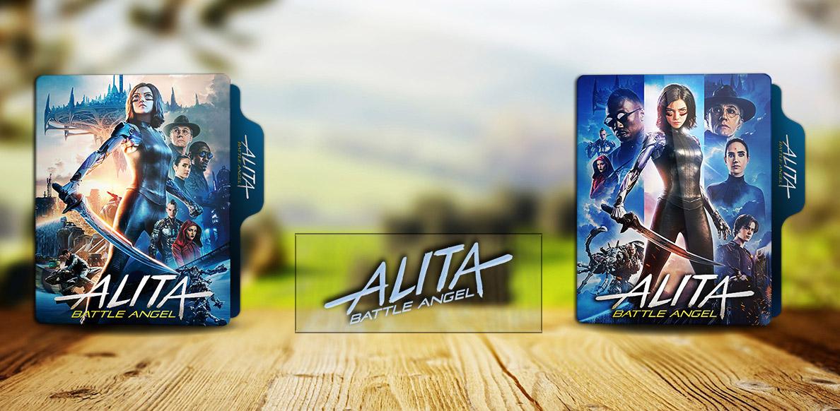 Alita Battle Angel 2019 Folder Icon By Rkomilan On Deviantart