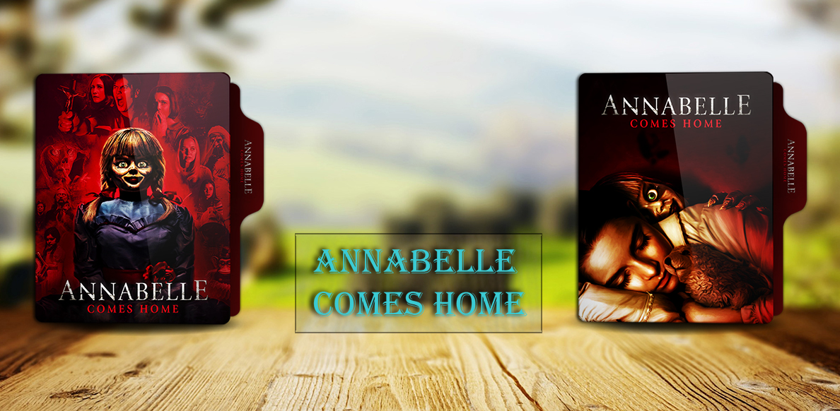 Annabelle Comes Home 2019 Folder Icon By Rkomilan On Deviantart
