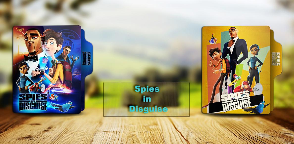 Spies In Disguise 2019 Folder Icon By Rkomilan On Deviantart