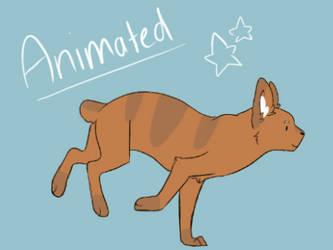 Cat Run Animation