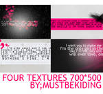 4 lyric textures