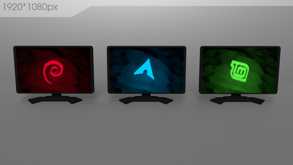 Linux Tiles II by xcfdjSe7en