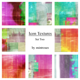 Icon Textures Set Two by mintroses