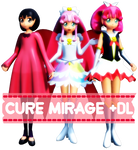 MMD Happiness Charge Precure- Cure Mirage +DL!