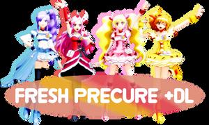 MMD Fresh Precure DL!