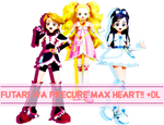 MMD Futari wa Precure Max Heart DL!