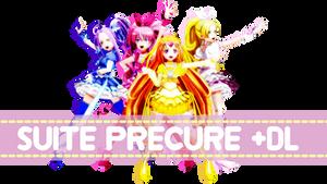 MMD Suite Precure DL!