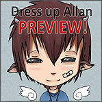 Allan Dress up - Game