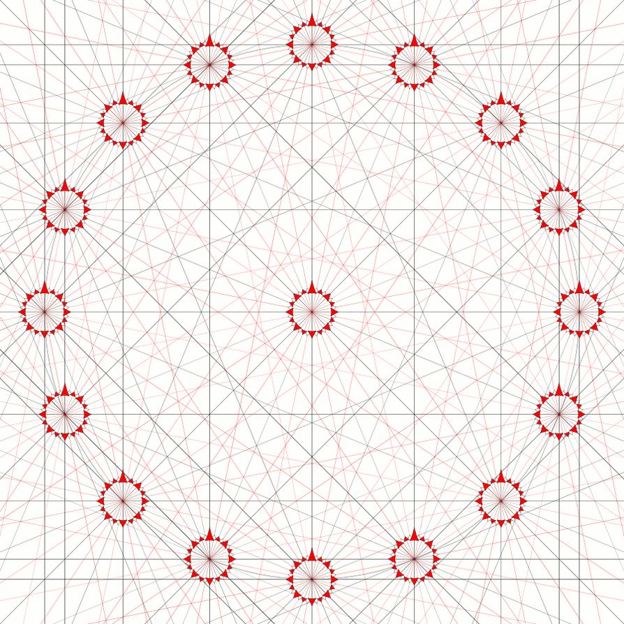 Portolan Chart Lines by Hai-Etlik