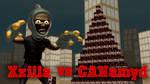 XZilla vs the CANamyd by misterprickly