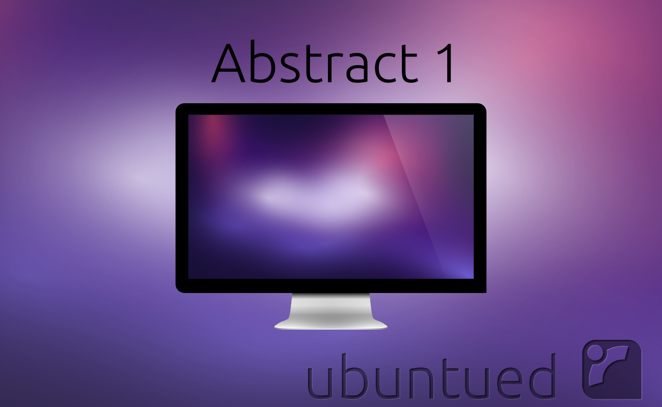 Ubuntued-Wallpaper: Abstract1