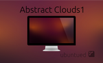 Ubuntued-Wallpaper: Abstract Clouds1