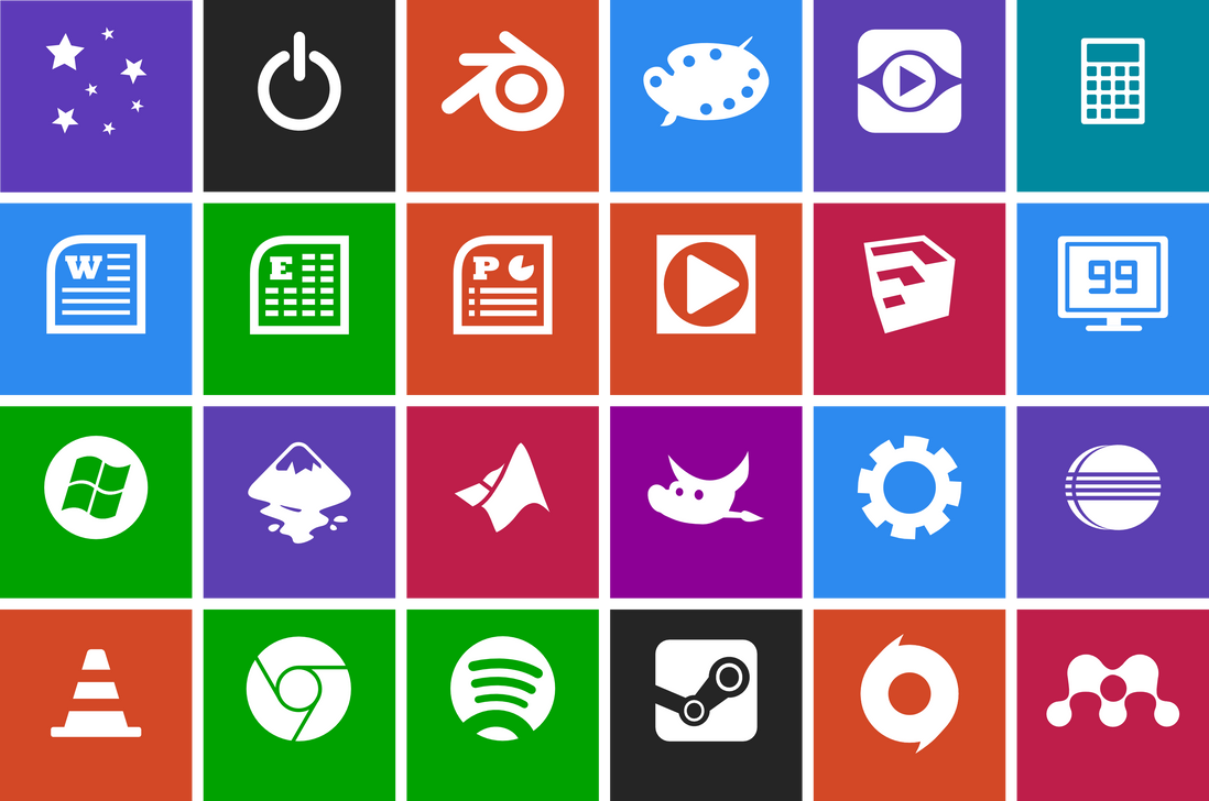 Metro Style Icon Pack By Neonsalad On Deviantart