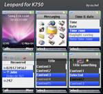 Leopard for SE-K750