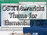Mavericks Elementary theme (theme+plank+cursors)