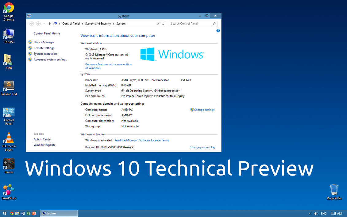 Windows 10 Technical Preview Wallpaper By Paladin324 On Deviantart