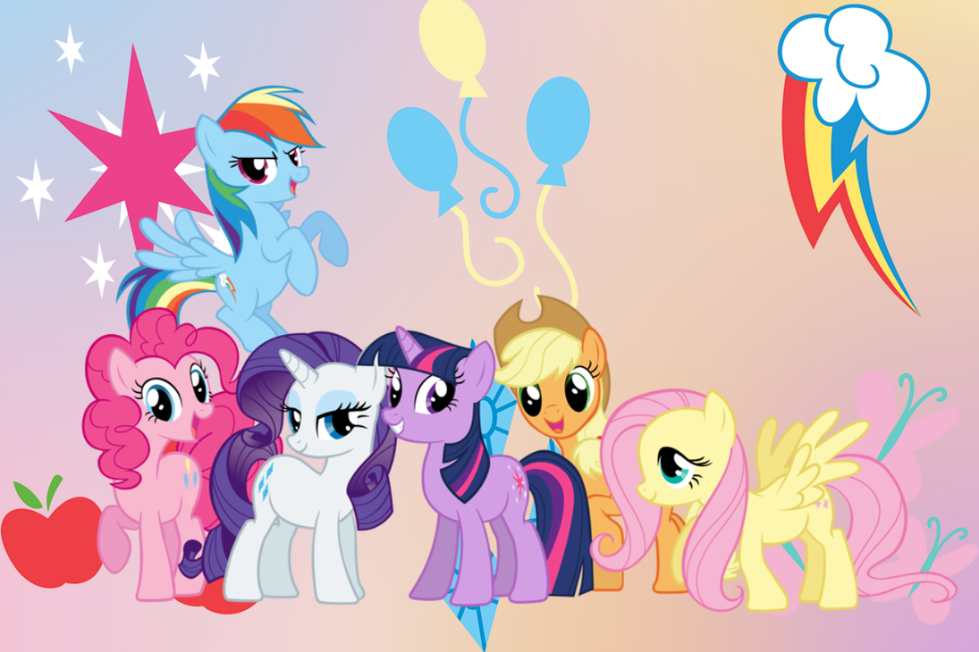 my little pony fim wallpaper packluuandherdraws on deviantart