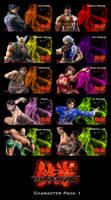 Tekken 6 Characters Pack I