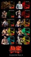 Tekken 6 Characters Pack III