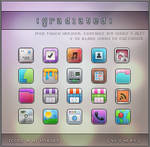 Gradiated iPhone by scurrrvy