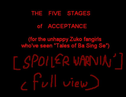 The Five Stages by Isaia